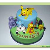 429. Pokemon – marcipánový dort
