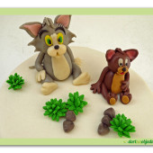436. Marcipánový dort Tom a Jerry
