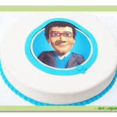 446. Inspirace  – firemní dort