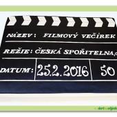447. Firemní inspirativní dort