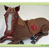 460. Marcipánový 3D dort – kůň