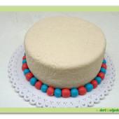 453. Marcipánový dort batul k dekoraci WooW