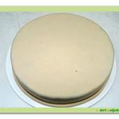 454. Marcipánový dort klasik  k dekoraci WooW
