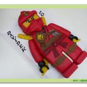 440. Lego Ninjago – modelovaný 3D dort