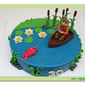 462. Marcipánový dort rybářský sen