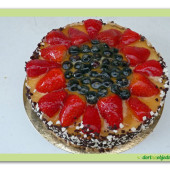464.  Ovocný mascarpone dort – gluten free