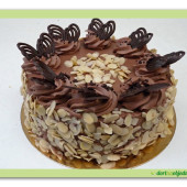 463. Mandlová paříž – gluten free dort