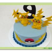 469. Marcipánový dort pokemon – Pikachu