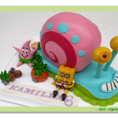 470. Gary –  postavička 3D ze seriálu spongebob