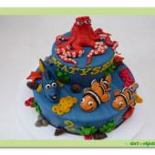 478. Hledá se Dory – velký marcipánový dort