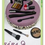 481. Marcipánový dort na téma – Kosmetika – móda