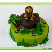 485. Lví král – marcipánový dort