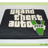 498. GTA V – marcipánový dort