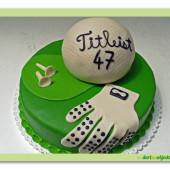 494. Golfový dort – Titleist