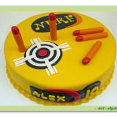 496. Nerf – dortový terč