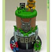 500. Transformers – velký patrový dort