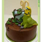 505. Marcipánový dort – Andulka