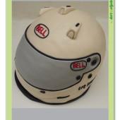 502. Marcipánový modelovaný dort – motoristická helma Bell