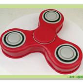 507. Marcipánový modelovaný dort  Spiner