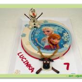 511. Ledové království – princezny s Olafem a Svenem