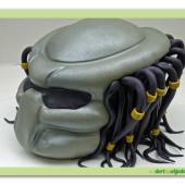 528. Predátor – marcipánový 3D dort