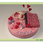 536. Violetta 2 – marcipánový dort