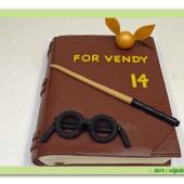540. Kniha kouzel Harry Pottera