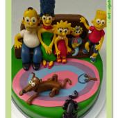 543. Simpsonovic rodina – marcipánový dort