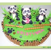 560. Marcipánový dort – Pandy