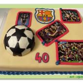 578. Sportovní týmový dort – Barcelona