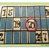 579. Bingo tiket  – marcipánový dort