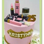 580. Marcipánový dort – Chanel exclusiv