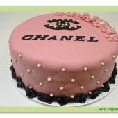581. Marcipánový dort Chanel