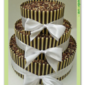 568. Patrový čokoládový dort DUO