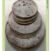 """571. Svatební dort – """"Naháč """" bez dekoru"""