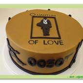 618. James Bond  marcipánový dort