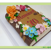 623. Kniha pro maminku – marcipánový dort