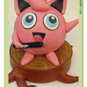 613. Pokémon Jigglypuff – marcipánový 3D dort