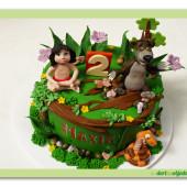 633. Mauglí – marcipánový dort