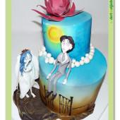 642. Marcipánový dort Mrtvá nevěsta