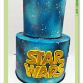 647.Star wars patrový dort