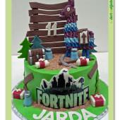 655. Marcipánový dort Fortnite Lama