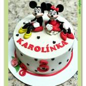 664. Minnie a Mickey