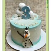 672. Ledové království – veselý sněhulák Olaf