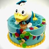 676. Narozeninový dort Kačer Donald