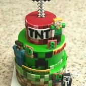 687. Minecraft dort – patrový velký