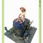691. Harry Potter  – Dobby – marcipánový dort